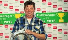 Henrie Bekkers Fieldmanager of the Year 2016